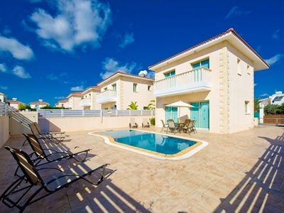Photo for Protaras Deluxe Villa Ena is based only 200m from the beautiful resort of Protaras, on the south eas