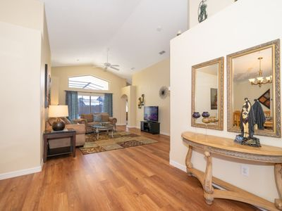 Photo for DEAL! LOCATION! 4BR, 2 King Masters, Games Room, Private Pool, WiFi, BBQ, HBO