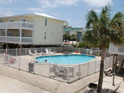 Photo for Great budget friendly vacation spot right across the street from the beach!