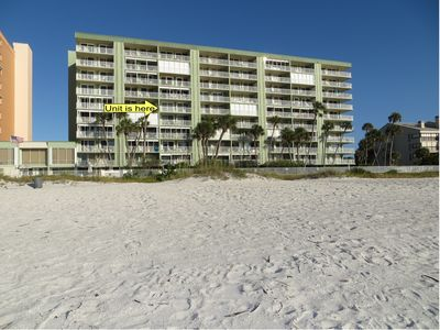 Photo for Direct Beach Front - Updated unit  *** Reduced rates ***