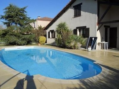 Photo for 7 people TOULOUSE villa with pool near 13. 5 x 8m