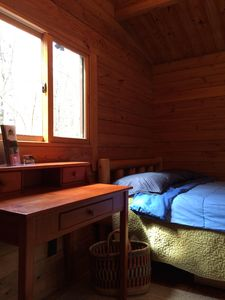 Photo for Log Cabin adjacent to 20 miles of hiking, biking and skiing trails.