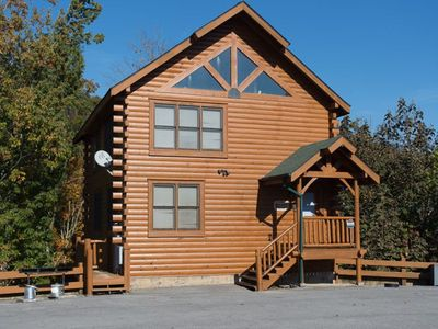 Photo for Amazing cabin under renovation. Booking now for reservations beginning 11/8/19.