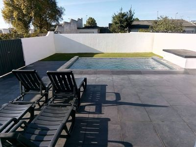 Photo for Villa 200m² with swimming pool 150m from the beach 10 minutes from Porto