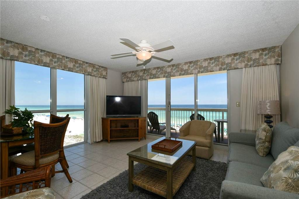 Beachfront corner condo most spacious condo of the resort - 1 bedroom condos in destin fl on the beach ...