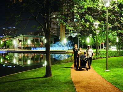 Photo for ★ Glass Walls| Heart of Houston | Free Breakfast| Walk-able ★