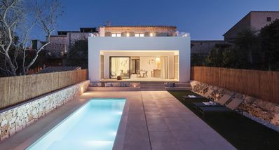 Photo for Brand new villa with pool and beautiful views in Santanyi