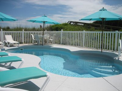 Pool, Just Outside Lower level patio