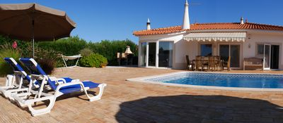 Photo for Holiday house with pool on a 4800m² garden plot in Lagos in the Algarve