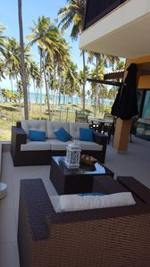 Photo for AP DUPLEX 4/4 IBEROSTAR PRAIA DO FORTE - FACING THE SEA, A 30 METERS FROM THE BEACH