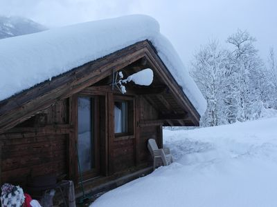 Photo for Independent chalet for 4 pers in Les Houches