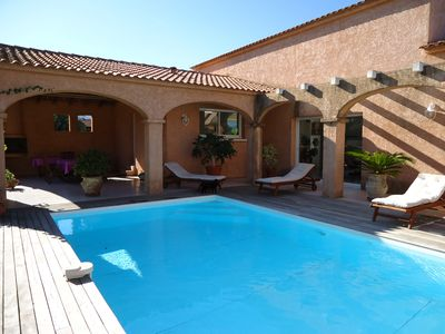 Photo for Charming villa in the town of Solaro with private pool