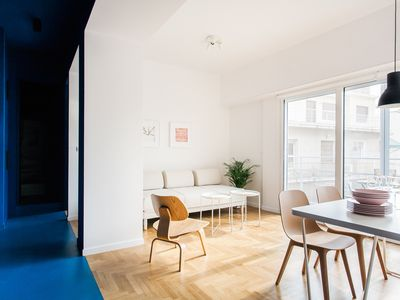 Photo for Modern 2 bed/2 bath Acropolis view flat