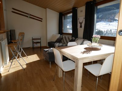 Photo for Holiday Pirinenca Sol Tarter B, apt. 2 bedrooms, 4 / 7pers, 300m from the slopes