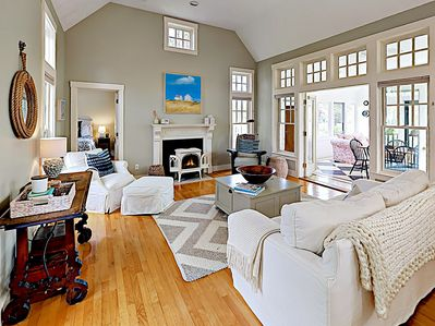 Great Room - Welcome to Martha's Vineyard! This all-suite retreat is professionally managed by TurnKey Vacation Rentals.