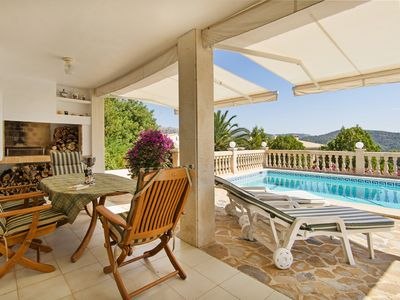 Photo for Holiday home in a quiet location with private pool and fantastic views
