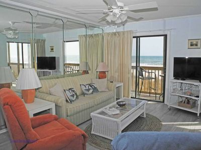 Photo for Tilghman Beach and Racquet Club Unit: 101! Oceanfront 2 Bedroom Condo. Book now for best rates!