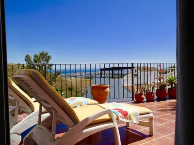 Photo for Mijas Amazing Apartment with views, pool and garden!