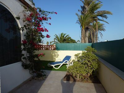 Photo for Holiday house in Corralejo, best location, Free WiFi, with terrace and garden
