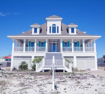 Photo for Beautiful four-bedroom home across the street from the Gulf at 1307 Ariola!