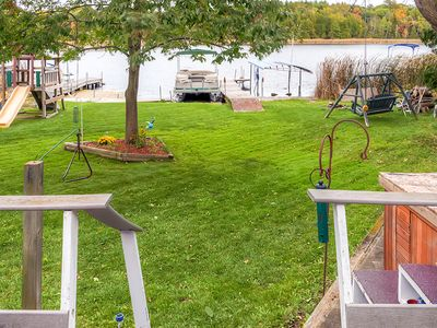 Photo for Campbellsport House w/Private Dock & Patio