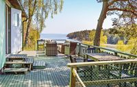 Stunning surroundings with rocks to climb, an enchanting forest and a boat to view the panorama.