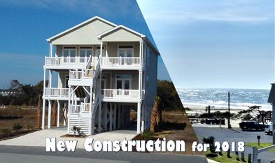Photo for 2018 BRAND NEW -- GREAT OCEAN VIEWS -- 5 Bedroom, 5.5 Bath, 2 Living Rooms