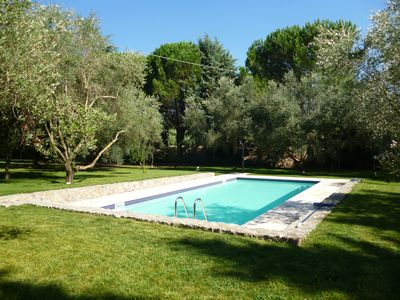 Photo for Villa in secluded grounds of 1 hectare, easy access to sea, shops and restaurant