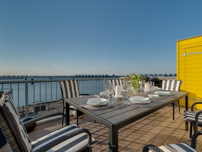 Photo for KAP MAR II - exclusive apartment with stunning views of the harbor and the Schlei