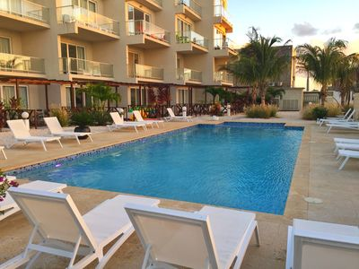 Photo for Amazing spacious and beautiful 3 bedroom condo #1 walking distance from it all!!