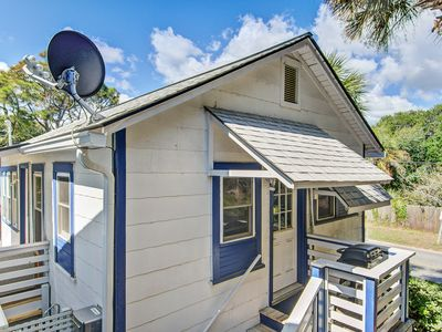 Photo for Dog-friendly home w/ocean views & an easy walk to the beach, shops, & dining!