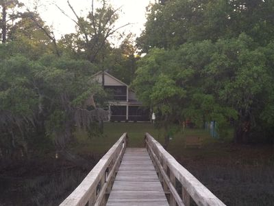 Photo for Stunning Waterfont Home w/ Dock, Nearby Parris Island, Ideal for Marine Families