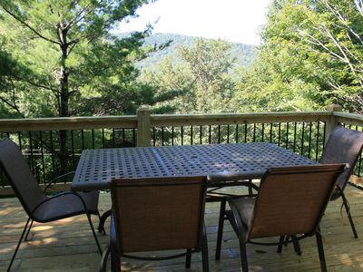 Photo for Gorgeous inside and out house with brand new deck and stunning mountain views!