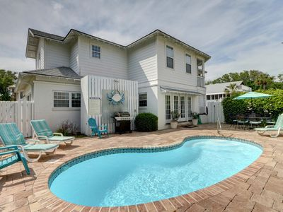 Photo for Beautiful family Beachside Tybee Vacation Home with Private Pool!