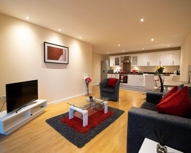 Photo for Stylish, Luxury Two-Bedroom Serviced Apartment