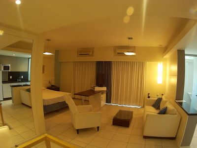 Photo for Loft at Paradiso All Suites, in a great location in Barra da Tijuca.