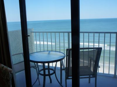 Photo for End Unit - 8th Floor:  Enjoy our Large Beach, Morning Sunrises, and Salty Air