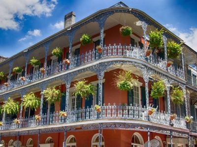 Photo for GREAT NOLA ESCAPE! DESIGN KING UNIT ON CANAL STREET, STEPS TO FRENCH QUATER