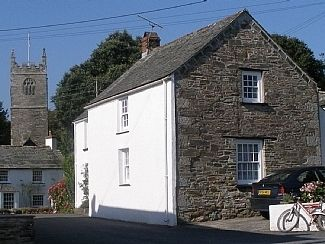 Quince Cottage looking towards the church