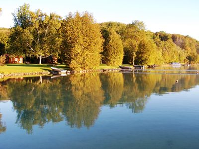Photo for Affordable Lakeside Vacation Rental in Leelanau County on Lime Lake