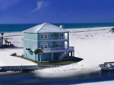 Photo for Waterfront Custom Beach House - 30% Discount in August/Sept/Oct