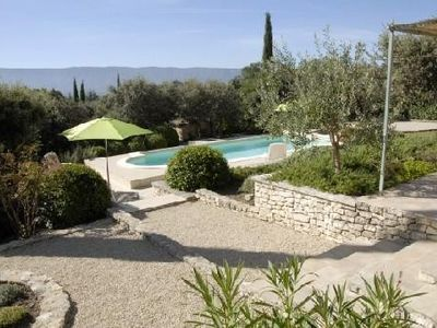 Photo for Beautiful Provencal Villa (2-6 pers.), Quiet, Luberon View, Private Heated Pool