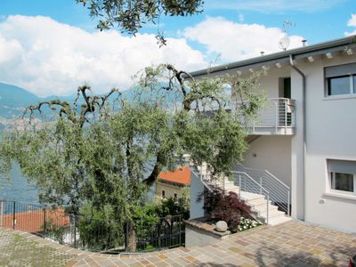 Photo for Apartment LA MAISON BLANCHE (BRZ156) in Brenzone - 2 persons, 1 bedrooms