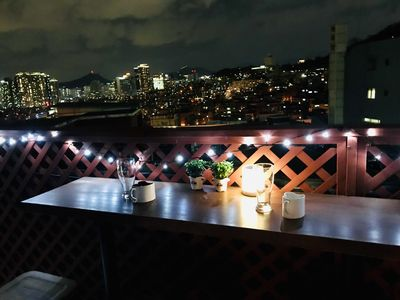 Photo for Amazing view from a private rooftop on the hill of Namsan in center of seoul