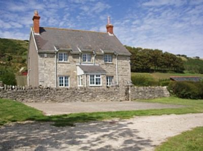 Photo for Stunning Sea Views, National Trust Setting, Perfect Summer Holiday Location