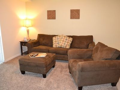 Photo for Find peace in this cozy 2 bedroom 2 bath condo. OW8-202