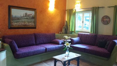 Photo for Comfy/Elegant TWO BR Casa, WK or MONTH rates.  Sweet 15 min. walk to town.