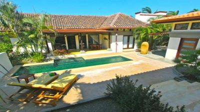 Photo for PRIVATE 2 BEDROOMS HOME W POOL  AT THE BEACH IN PLAYA LANGOSTA