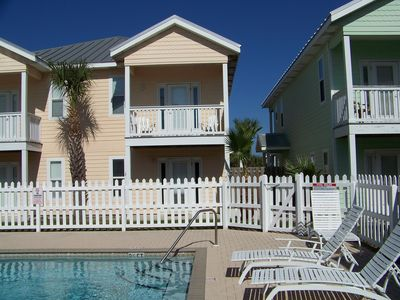 "Photo for May $145/nt  avail ! '""SERENITY by the SEA"", Pool ,short walk to the beach"
