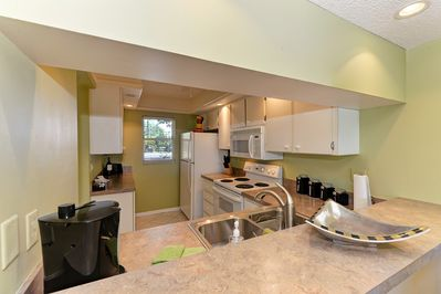 Nicely Appointed Kitchen with lots of Cabinet Space